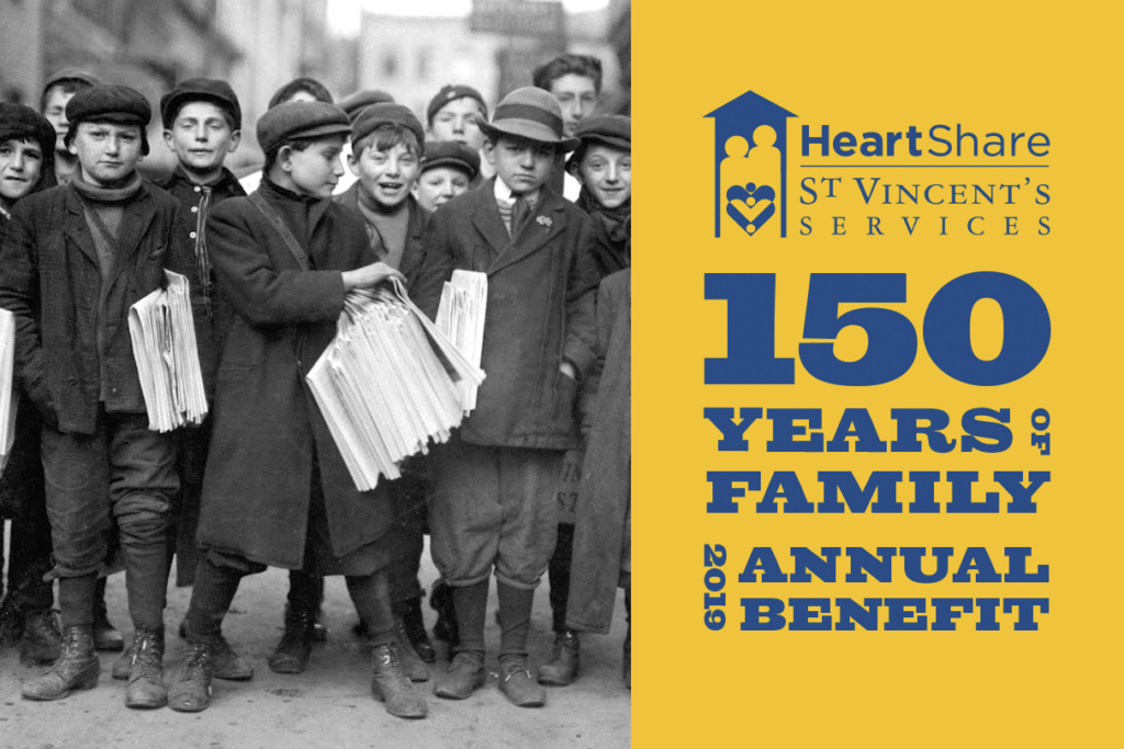 HeartShare St. Vincent's Services_150 Years of Family_Annual Benefit